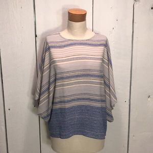 XS Dressy Drapey Sleeve Top by The Limited
